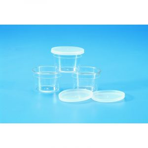 Specimen container PS with PE lid