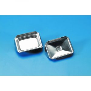 Trays for histology polished stainless steel 7 x 7 mm