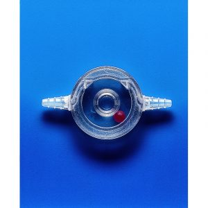 Flow indicators SAN ball type for 6.5-10 mm id tubing