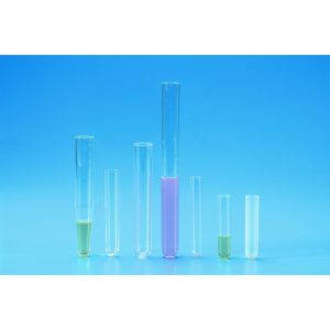 Cylindrical test tubes PS 150 x 16 mm
